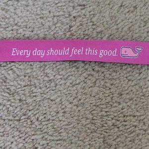 NWOT Vineyard Vines Pink Croakies Sunglasses Strap